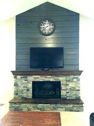 lava rock fireplace mantel stacked stone with white adding a to gas limestone mantels natural veneers
