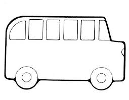 Small Picture Bus coloring page