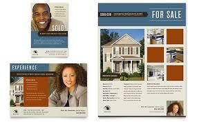Real Estate Ad Real Estate Agent Realtor Flyer Ad Template Design