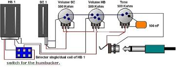 wiring diagram 1 humbucker 1 single coil wiring how to build a guitar on wiring diagram 1 humbucker 1 single coil