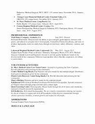 Example Nursing Resume Sample New Rn Grad Resume New Sample Graduate