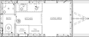 tiny house plan. Bunk Box Tiny House Plans Plan Y
