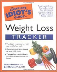 weight loss tables buy the complete idiots guide to weight loss tracker book