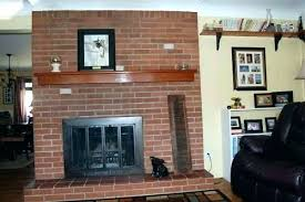 red brick furniture fireplace decorating ideas the 2 pick my presto home mantel firepla