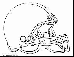 Pro Football Helmet Coloring Pages Redskins Panthers Denver Broncos