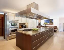 Image Of: L Shaped Kitchen With Island Hood