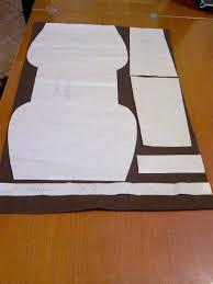 Taglio cucio ricreo: borsa in feltro cartamodello e tutorial