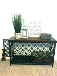 diy dog crate table end table dog crate coffee table kennel dog crate dog crate table