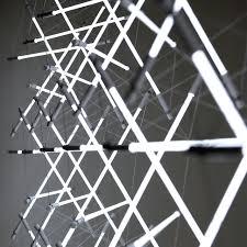 tensegrity space light lighting design images