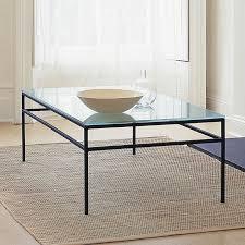 remarkable black rectangle rustic glasetal glasetal coffee table depressed design