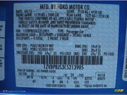 2012 Mustang Color Code Ci For Grabber Blue Photo 49318751