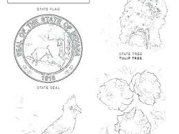Texas Symbols Coloring Pages Flag Coloring Page Symbols Coloring