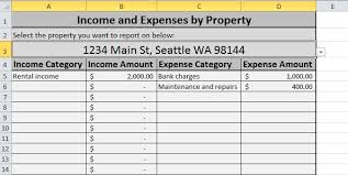 free finance spreadsheet free expense tracking spreadsheet for your rentals weve updated