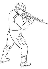 Lego Soldier Coloring Pages Online Templates Book Colouring