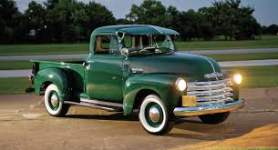 Truck chevy 1955 truck : The 1947-1955 Chevrolet Pickup | Driven
