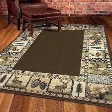 deer area rug cabin area rugs rustic cabin lodge area rugs rustic area rug deer bear