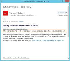 Create Outlook Message Template How To Set Up Email Auto Responder On Microsoft Exchange
