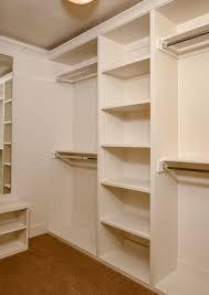 solid foundation base for a custom closet closet
