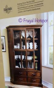 bayside furnishings sliding door