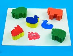 Sponge Painting Set - Animal (5)