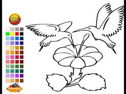 Small Picture Hummingbird Coloring Pages For Kids Hummingbird Coloring Pages