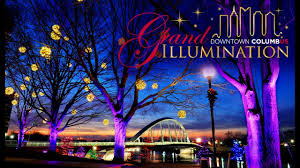 Columbus Ohio Tree Lighting Scioto Mile Lights Up For The Holidays Scioto Mile