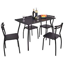 myeasyping dining table and set chairs room american furniture modern chair made kitchen mid century patio