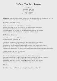 Resume Qualifications Example Examples Of Resumes Nanny Pics Resume