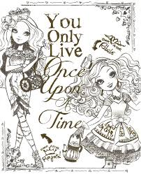 Small Picture Ever After High Coloring Pages Throughout Coloring Pages itgodme