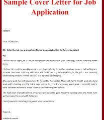 Cover Letter Sample For Job Application Legal India Mechanical