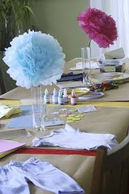 Baby Shower Table Centerpieces Ideas