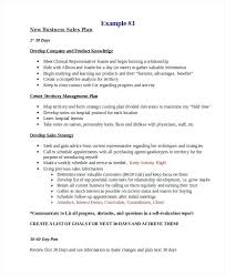 Example Sales Action Plan Sample Sample Sales Plan Template Business Sales Plan Examples New Business