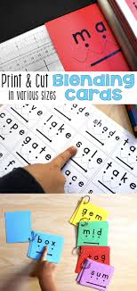 How To Print The Blending Cards In A Variety Of Formats