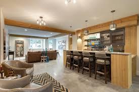 modern basement bar. Rustic Modern Basement Bar From Aspect Design-Build