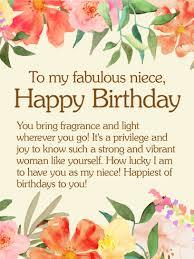Birthday Cards For Niece Birthday Greeting Cards By Davia Free