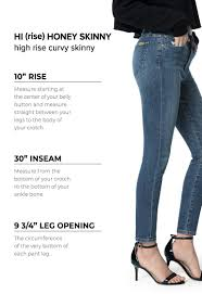 Silver Jeans Size Chart 27 Womens Denim Size Chart And Fit Guide Joes Jeans