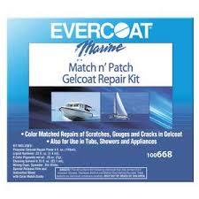 Match N Patch Gelcoat Repair Kit