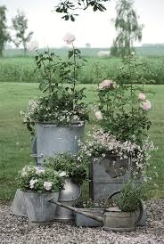 galvanized metal tubs buckets