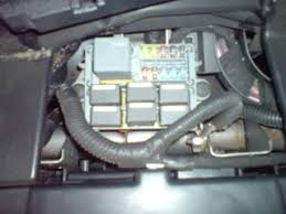 ford transit forum bull view topic mk fuse details fuse box location the fuse box is under the n s top dash lid take the 2 front screws out and then just pull itto release the clips and the diagram is on the inside of