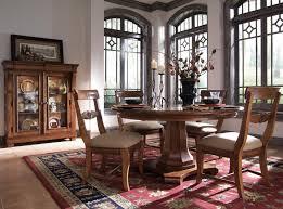 Kincaid Tuscano Bedroom Furniture Kincaid Furniture Tuscano 5 Pc Round Pedestal Table With 4