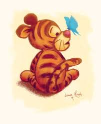 baby tigger and pooh hugging. Image On Baby Tigger And Pooh Hugging