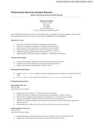 security analyst resume security analyst resume to inspire you how to  create a good resume senior . security analyst resume ...