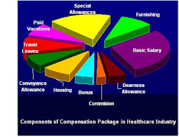 Compensation Structure in Healthcare and Medicine Sector Figure: Components of compensation package in Indian Healthcare & Medicine Industry