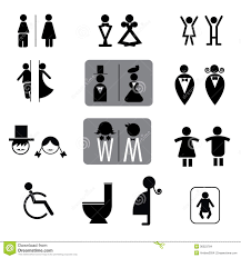men s bathroom sign vector. Bathroom Mens Sign Vector Incredible Set Of Toilet And For Public Places Stock Men S U