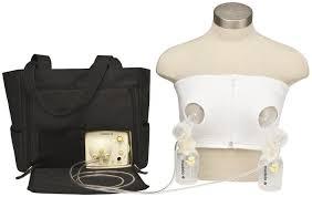 Medela Bustier Hands Free Nursing Bra White X Large