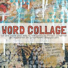 is journaling a word art journal prompt word collage schulman art