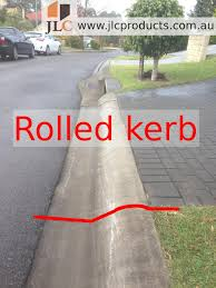 ramps for rolled kerbs