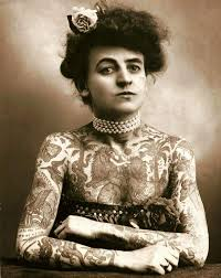 мод вагнер первая женщина покрывшая татуировками все тело фото