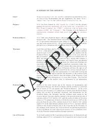Offering Memorandum Template Example Of A Business Memo Letter ...