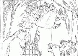 Small Picture Daniel And The Lions Den Coloring Page New For zimeonme